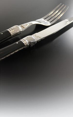 Laguiole med sort håndtak