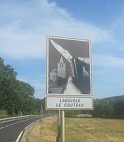 Laguiole Le couteau Roble