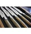 6 stk 'Laguiole En Aubrac' kniver av ekte kveghorn