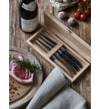 Mixed wood Laguiole Le couteau