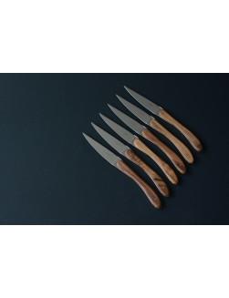Eske med 12 Laguiole En Aubrac Valnøtt biffkniver