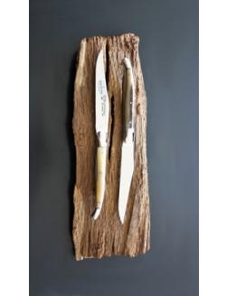 12 stk 'Laguiole En Aubrac' kniver av ekte kveghorn