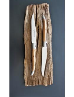 12 stk. 'Laguiole En Aubrac' Enebær (Juniper) Laguiolekniver